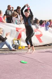 T1 wetsuit off