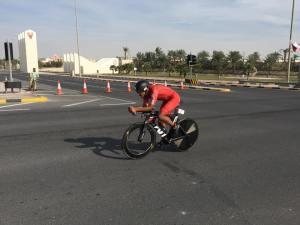 Oli Bahrain bike